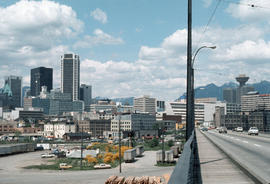 [View of] Downtown from Cambie Bridge