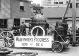 [Labour Day Parade: Waterworks Progress 1890 to 1914]