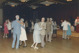 Couples dancing in Columbia Room at Hotel Vancouver