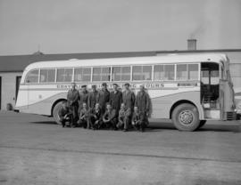B.C. Electric, Publications - bus at Cambie St.