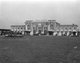 [Union Station for Great Northern Railway and Northern Pacific Railway lines]