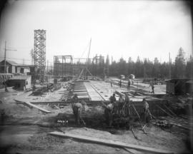 [Construction of Horne-Payne substation]