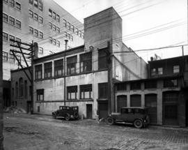 F.W. Woolworth Company [showing the rear of 632 Granville Street]