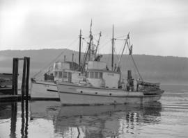 [Laila and Acmaksis] Fishing Boats, Alberni Canal