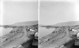 [View of Kamloops showing range in the distance]