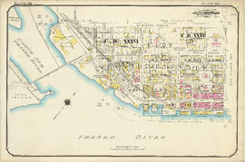 Plate 123 [Sixth Street to Queens Avenue to eastern tips of Poplar and Lulu Islands to Fraser River]