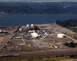 Aerial photo of petrochemical plant [Kalama Chemicals?]
