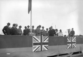 H.R.H. Prince of Wales at New Westminster replying to Mayor Gray