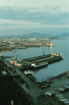 Burrard Inlet waterfront
