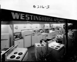 Canadian Westinghouse Co. display of household appliances