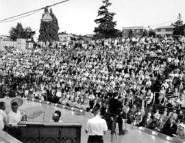 [Kitsilano Showboat: view of] the audience