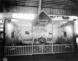 Midland Co. display of Alberta coal