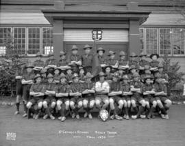 St. George's School Scout Troop - Fall 1934