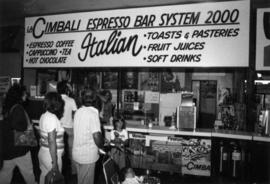La Cimbali Expresso Bar System 2000 booth