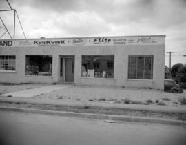 [Exterior view of a building supply store]
