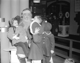 Hudson Bay Company - [children visiting] Santa