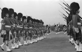 Opening of the Seaforth Armouries by H.E. Lord Tweedsmuir Governor-General Golden Jubilee 1936
