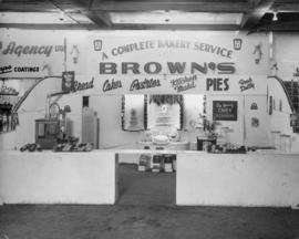 Concession stand at Pacific National Exhibition for Brown's Bakery