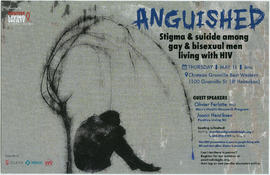 Anguished : stigma and suicide among gay and bisexual men living with HIV : Thursday, May 11 : Ch...