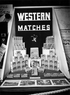 Western Matches display