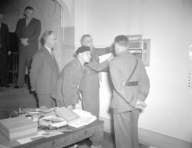 General Worthington's visit to the Province Building [and the] C.P.R.