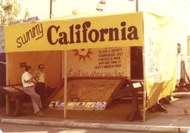 California travel display booth