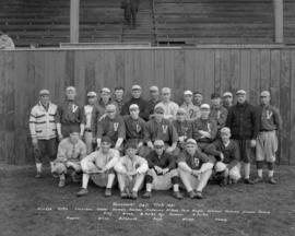Vancouver [Base]ball Club [Team Photograph] - 1921