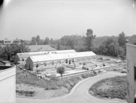 Shaughnessy Hospital pre-fabricated building [under construction]