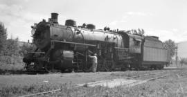 N.P. [Steam, Road Eng. #]1763 [Class 2-8-2]