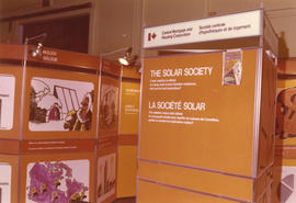 Central Mortgage and Housing Corporation display on solar energy