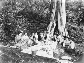 [A pioneer's picnic]