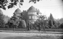 [Exterior view of 'Glen Brae', a Shaughnessy Mansion]