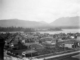 [View of] Vancouver, B.C., from C.P.R. Hotel