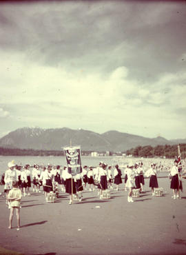 Kitsilano beach, June 1950
