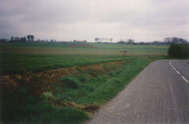 A modern view of the site of the airfield at Savy Berlette