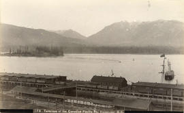 Terminus of the Canadian Pacific Railway, Vancouver, B.C.