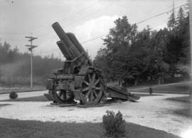 [W.W.I artillery piece at] Stanley Park
