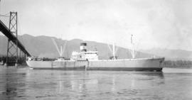 M.S. Al Lindberg [on east side of Lions Gate Bridge]