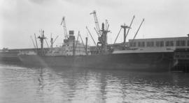 S.S. Amsteldyk [at dock]