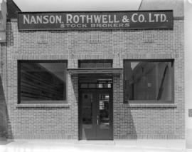 Nanson, Rothwell and Company Limited new building [at 565 Howe Street]