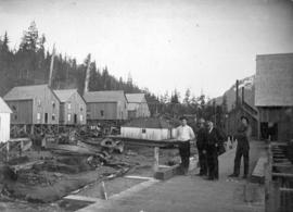 [Balmoral Cannery, Skeena River]