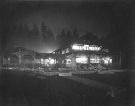 [Stanley Park Pavilion at night]