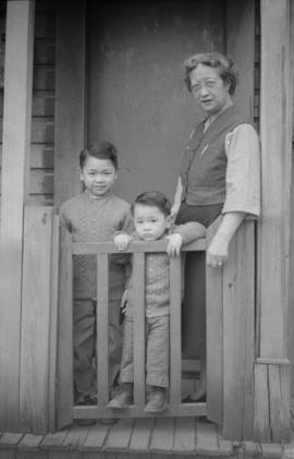 Vernon Yee, Paul Yee and Lillian Ho Wong