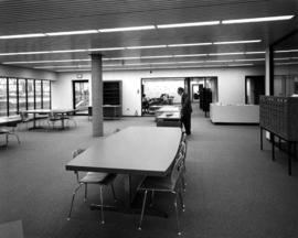 [Interior: research room, new Archives building]