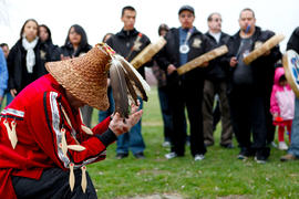 Kwantlen First Nations Flame Creation in Langley, BC