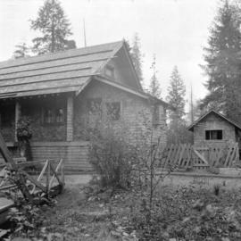 C.J. Piper's cottage [at] Piper [Avenue] North Burnaby [south of G.N. tracks]