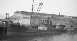 S.S. Marmion [at G.N. dock]