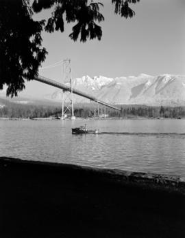 [View of the Lions Gate Bridge]