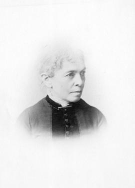 [Head and shoulders portrait of Amy Denison Taylor]