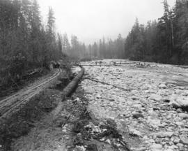 [Seymour Creek after the washout]